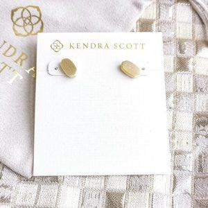 Kendra Scott Barrett Stud Earrings   Gold